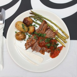 Passover dinner.