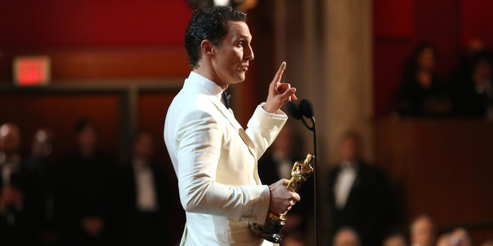 The 2015 Oscars: What does your acceptance speech sound like?